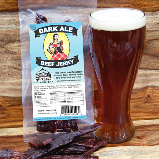 Dark Ale Beef Jerky BeerJerky.com Gourmet Beef Jerky Beer Jerky Wine Jerky Beef Jerky