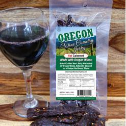 Oregon Wine Country - Hot Cabernet Beef Jerky