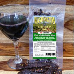 Washington Wine Country - Hot Cabernet Beef Jerky
