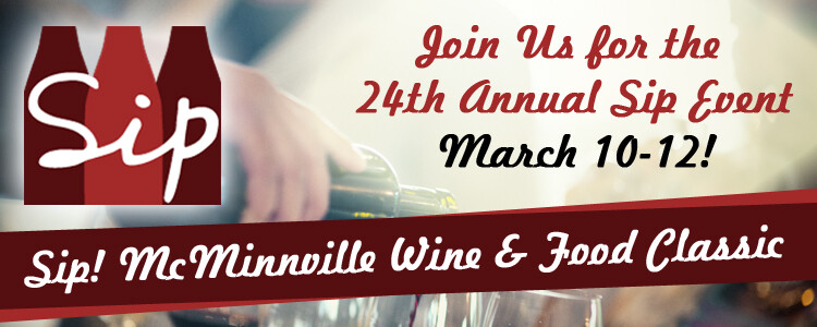 Join Us for Sip! in McMinnville
