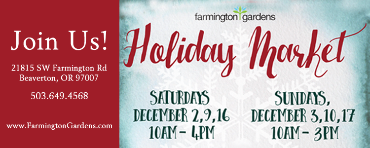 Farmington Gardens Holiday Market