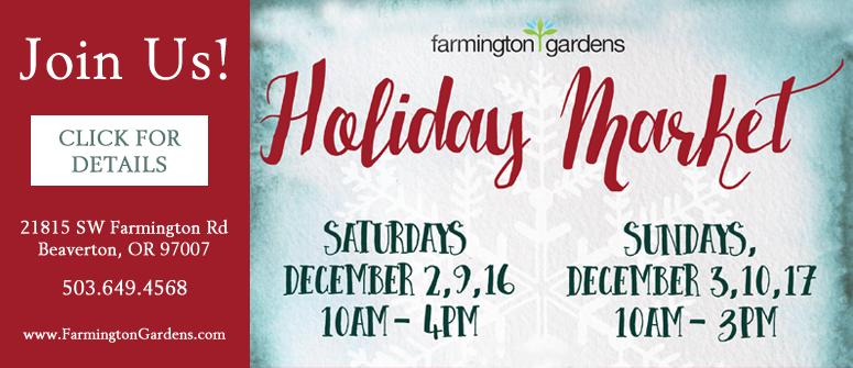 Farmington Gardens Holiday Market