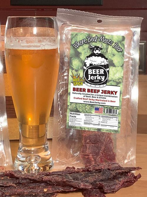 Beer Jerky Hot & Spicy