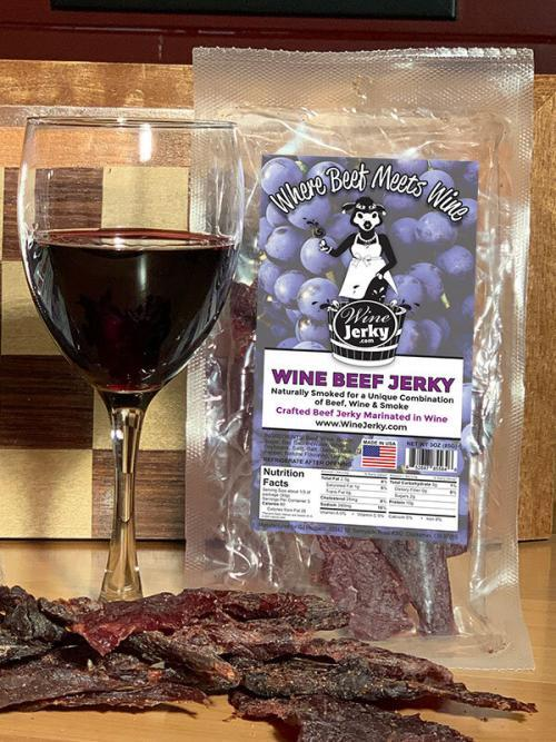 Wine Jerky Original