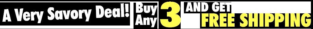 Buy 4 Get Free Shipping