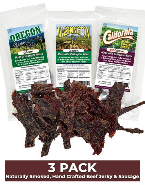 Wine Country Jerky Variety Pack