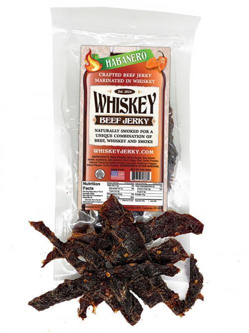 Whiskey Jerky Habanero